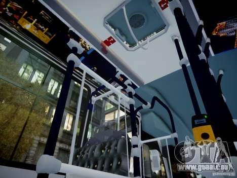 Scania K230 MTA New York City Bus für GTA 4 Rückansicht