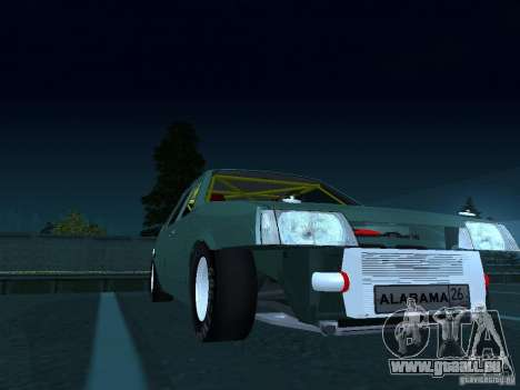 VAZ 2109 ziehen für GTA San Andreas Rückansicht
