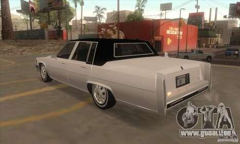 GTA IV Emperor für GTA San Andreas zurück linke Ansicht