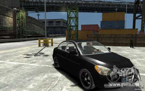 Hyundai Accent 2006 für GTA 4 Rückansicht
