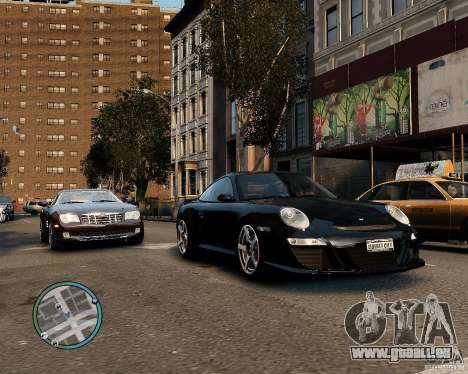 Ruf Rt 12 für GTA 4 hinten links Ansicht