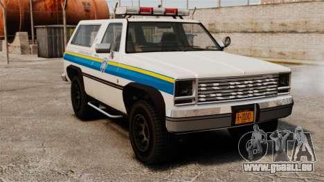 Polizei Rancher ELS für GTA 4
