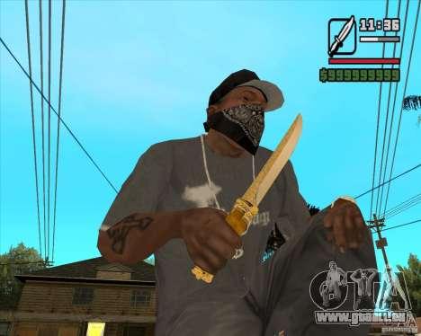 Couteau du Prince pour GTA San Andreas
