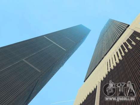 World Trade Center pour GTA San Andreas quatrième écran