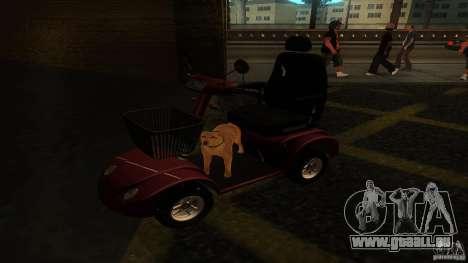 Elektroscooter - Speedy pour GTA San Andreas