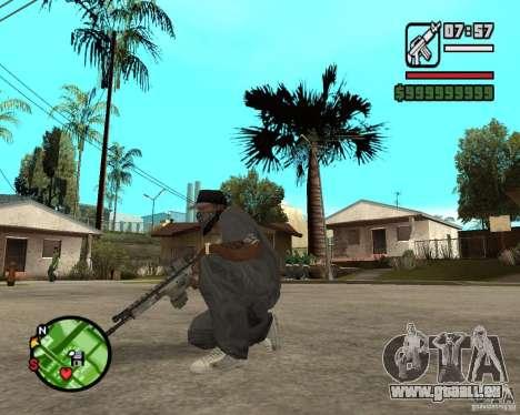 Applications de l'ARC pour GTA San Andreas troisième écran