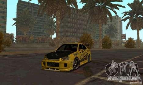 NFS Most Wanted - Paradise pour GTA San Andreas cinquième écran