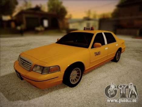 Ford Crown Victoria Taxi 2003 pour GTA San Andreas