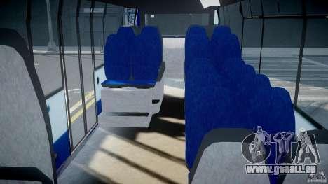 DAF Berkhof City Bus Amsterdam pour GTA 4 est un droit