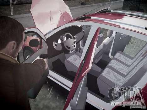 Dacia Sandero Stepway pour GTA 4 Salon