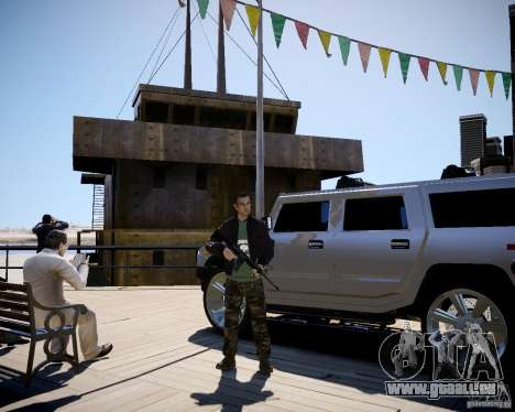 CoD Black Ops Hudson pour GTA 4 quatrième écran