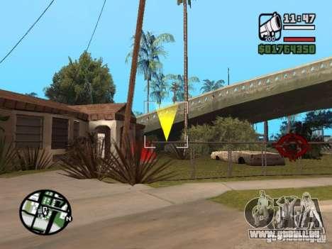 Krant race v2 pour GTA San Andreas quatrième écran