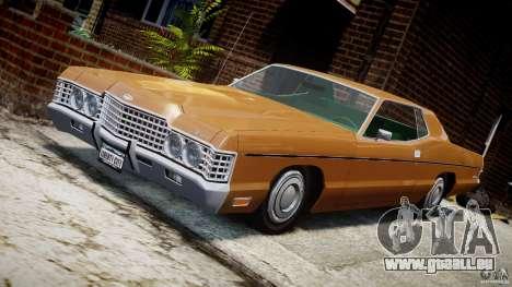 Mercury Monterey 2DR 1972 für GTA 4 Unteransicht