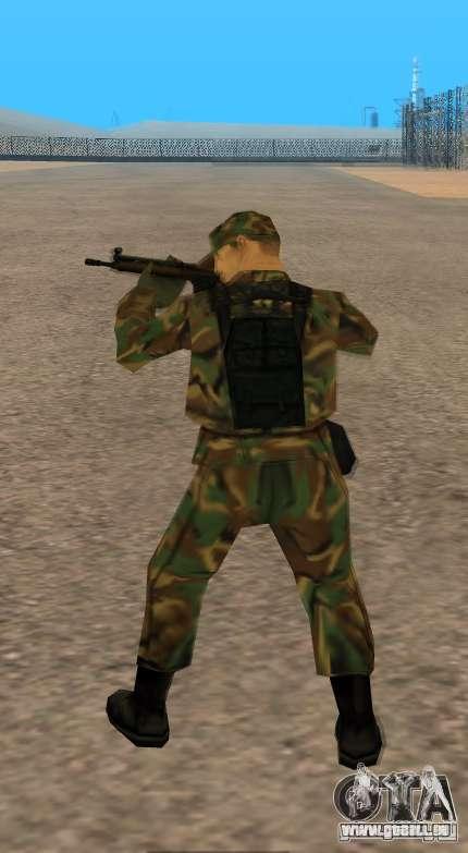 G3A3 Sturmgewehr für GTA San Andreas fünften Screenshot