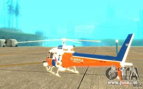 AS-350 TV für GTA San Andreas rechten Ansicht