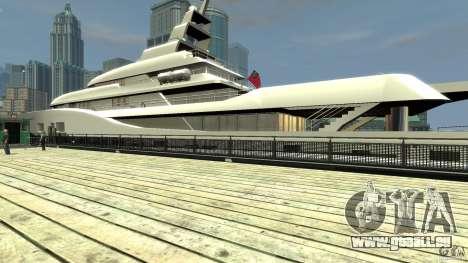 Yacht v1 für GTA 4 rechte Ansicht