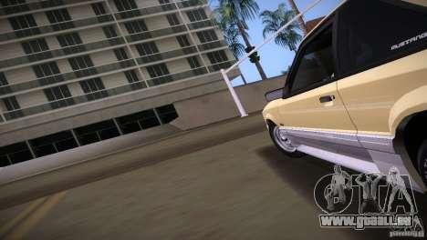 Ford Mustang GT 1993 pour GTA Vice City sur la vue arrière gauche