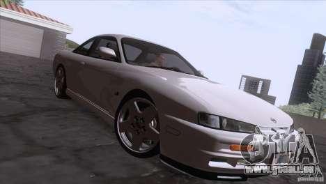 Nissan Silvia S14 Kouki pour GTA San Andreas vue intérieure