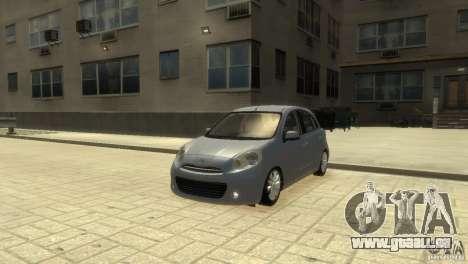 Nissan Micra pour GTA 4