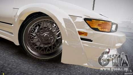 Nissan Sileighty pour GTA 4 est une vue de l'intérieur