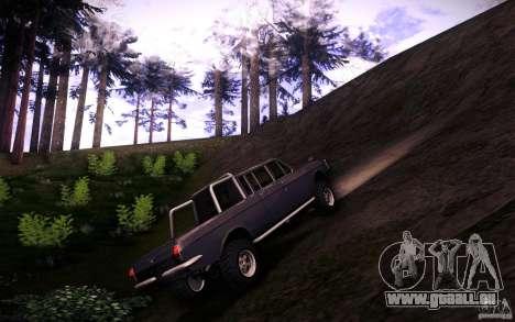 GAZ 2402 4 x 4 PickUp für GTA San Andreas Innenansicht
