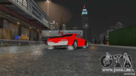 Jupiter Eagleray MK5 v.1 für GTA 4 Innenansicht