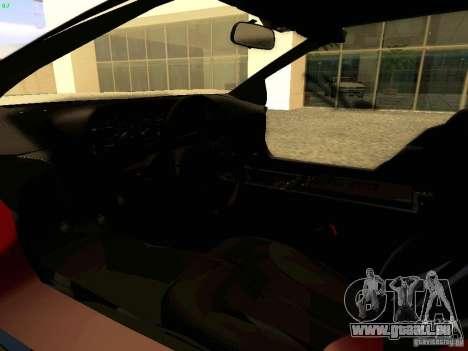 DeLorean DMC-12 V8 pour GTA San Andreas vue arrière