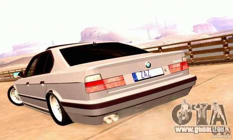 BMW E34 525i für GTA San Andreas rechten Ansicht