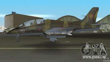 I.A.R. 99 Soim 701 pour GTA Vice City sur la vue arrière gauche