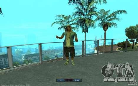 Crime Life Skin Pack für GTA San Andreas siebten Screenshot