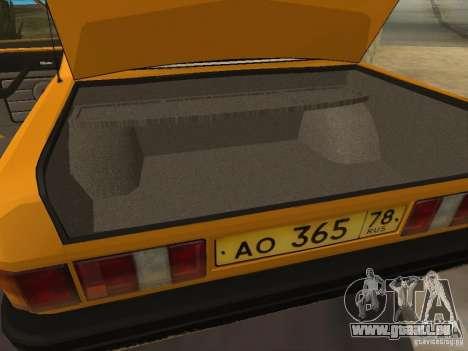 Taxi GAZ 31029 pour GTA San Andreas vue de côté