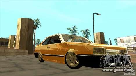 Volkswagen Santana GLS pour GTA San Andreas vue arrière