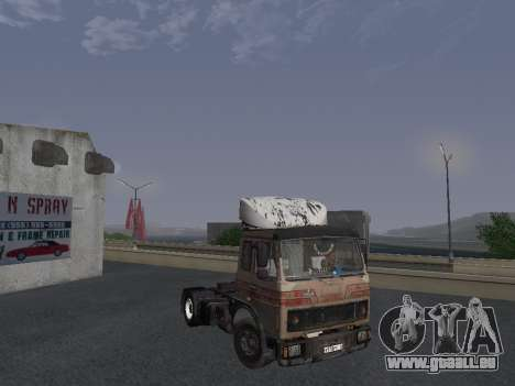 Kolkhoze MAZ 5551 pour GTA San Andreas