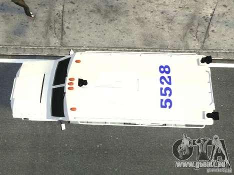 Lenco Bearcat NYPD ESU V.2 pour GTA 4 Vue arrière