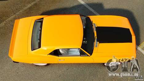 Chevrolet Camaro Z28 1969 pour GTA 4 est un droit