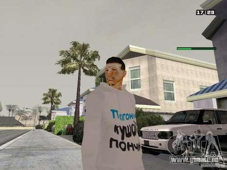 Schmycr pour GTA San Andreas deuxième écran