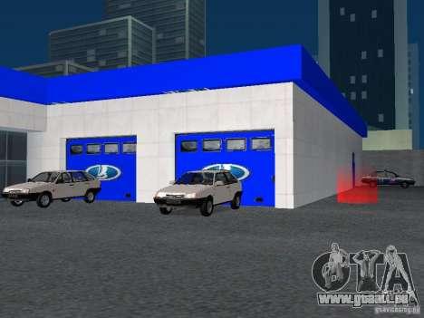 Auto VAZ pour GTA San Andreas sixième écran