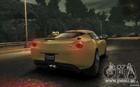 Lotus Evora 2009 pour GTA 4 est un droit