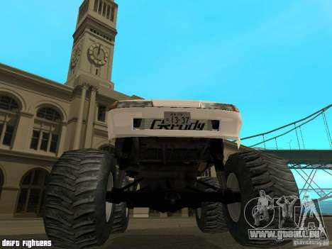 Elegy Monster für GTA San Andreas Innenansicht