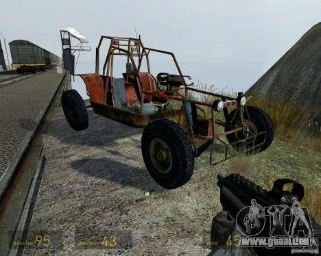 Half Life 2 buggy für GTA 4 Seitenansicht