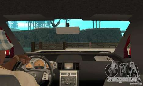 Nissan Murano 2004 pour GTA San Andreas vue de droite