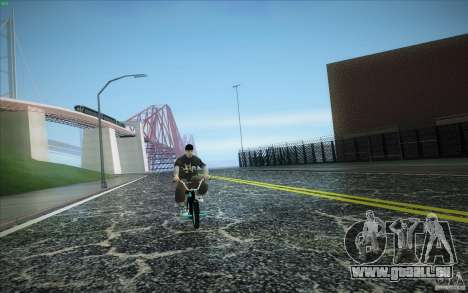 New roads San Fierro für GTA San Andreas fünften Screenshot