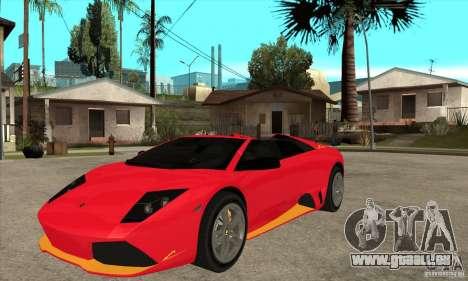 Lamborghini Murcielago LP650 für GTA San Andreas