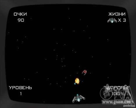 La possibilité de jouer sur un ordinateur portab pour GTA San Andreas troisième écran