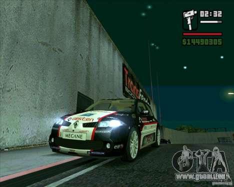 Renault Megane II RS für GTA San Andreas