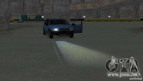 Halogen-Scheinwerfer für GTA San Andreas siebten Screenshot