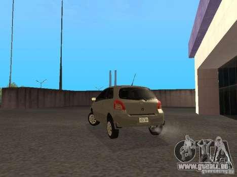 Toyota Yaris Sport 2008 für GTA San Andreas zurück linke Ansicht