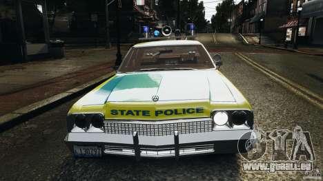 Dodge Monaco 1974 Police v1.0 [ELS] für GTA 4-Motor