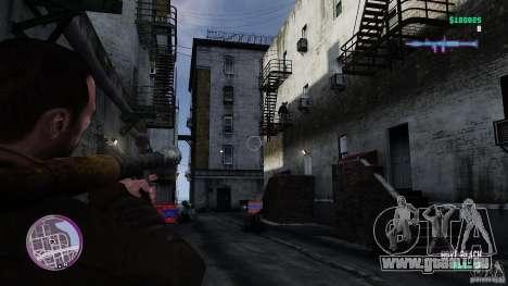 VC Style Radar/HUD (peau 3) pour GTA 4 quatrième écran