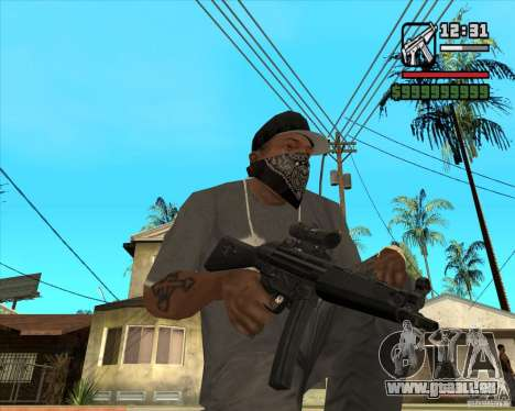 MP5 AGOG für GTA San Andreas